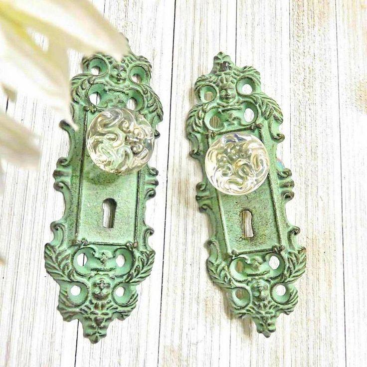 Curtain Tie Back, Curtain Tieback, Curtain Holdback, Door Knob Decor, Door Knob , Antique Door Handle, Door Handles, Shabby Chic Door Knob by SouthTexasHomeDecor on Etsy