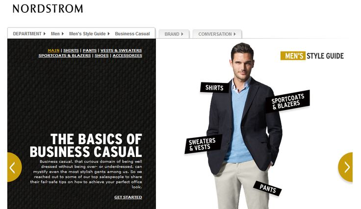 Nordstrom's Basics of Business Casual