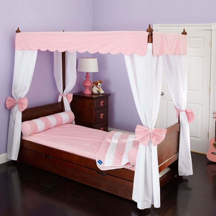 Canopy Bed Tents Princess toddler bed with canopy (With