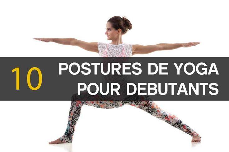 10 postures de yoga pour débutants #yoga