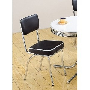RETRO CHROME CHAIRS SET OF 4