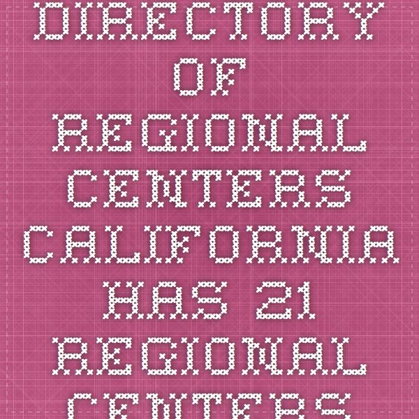 Directory of Regional Centers  California has 21 regional centers with more than 40 offices located throughout the state that serve individuals with developmental disabilities and their families. Map of Regional Centers (PDF) Lookup Regional Centers in Los Angeles County by ZIP Code Regional CentersExecutive DirectorAreas Serve Alta California Regional Center 2241 Harvard Street, Suite 100 Sacramento, CA 95815Phil Bonnet (916) 978-6400Alpine, Colusa, El Dorado, Nevada, Placer, ...