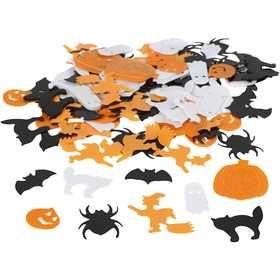 #Halloween #pailletten mix, afm 10-20 mm, 15 gr