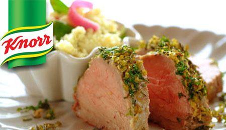 KNORR: Olive and Lemon Fillet steak.