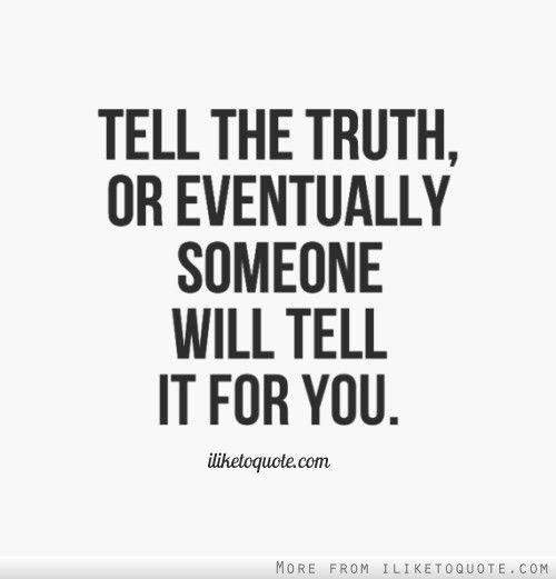 Truth Vs. Lie Essay