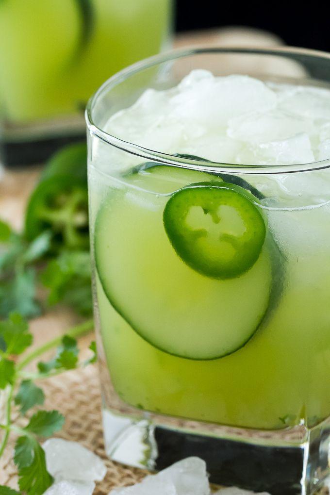 Cucumber Jalapeño Cilantro Margarita | Recipe | Health ...