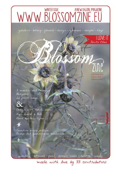 www.blossomzine.eu MAde with Love by 33 contributors