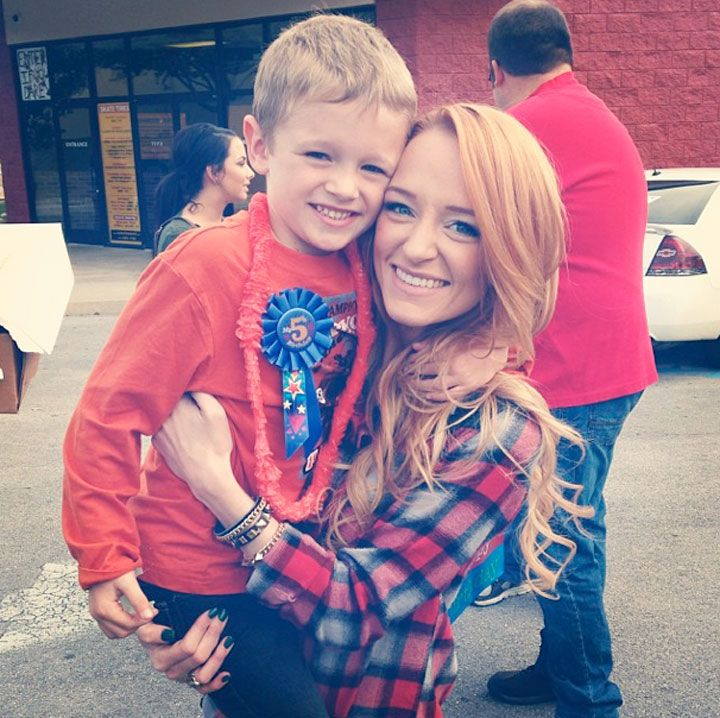 Maci Bookout: Abstinence Isn't Realistic She isn't exactly a celebrity to me (like a movie star) but I feel like she could be stuck in this board