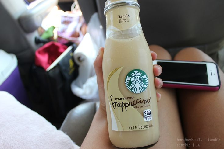 vanilla iced coffee. ♡
