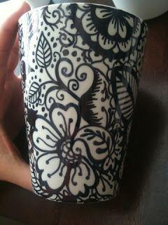 Fl(h)air Accessories: DIY Tutorial: Design your own ceramics #crafts