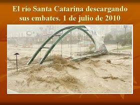 La ciudad de Monterrey es constantemente, desde sus primeros años como ciudad, centro de severas inundaciones que h an cobrado vidas humanas...