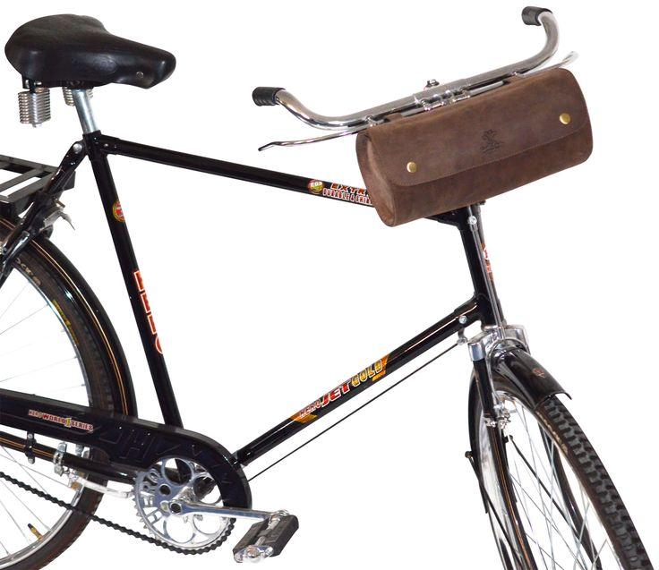 """Sportlich elegant und dabei auch noch praktisch. Das ist unsere Fahrradtasche """"Chris B."""". Gusti Leder- 2G15-20-4"""
