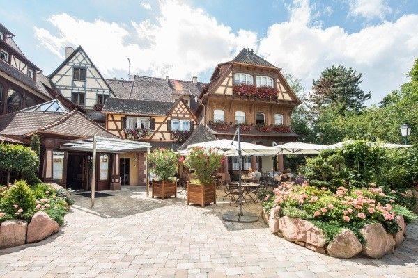 Facade Hôtel Le Parc Restaurants & Spa4* Obernai France Alsace / Lorraine
