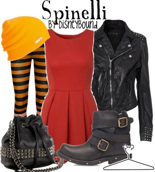 Spinelli (from the TV show Recess) by Disney Bound holy crap dude