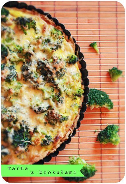 It's so easy DIY blog: Przepis na...Tartę z brokułami