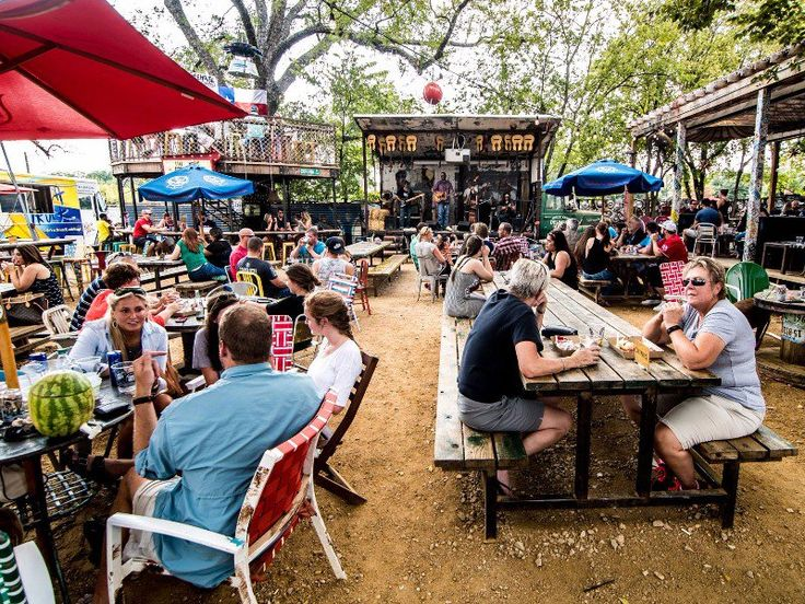 This Texas JunkyardTurnedBeer Garden is The Perfect