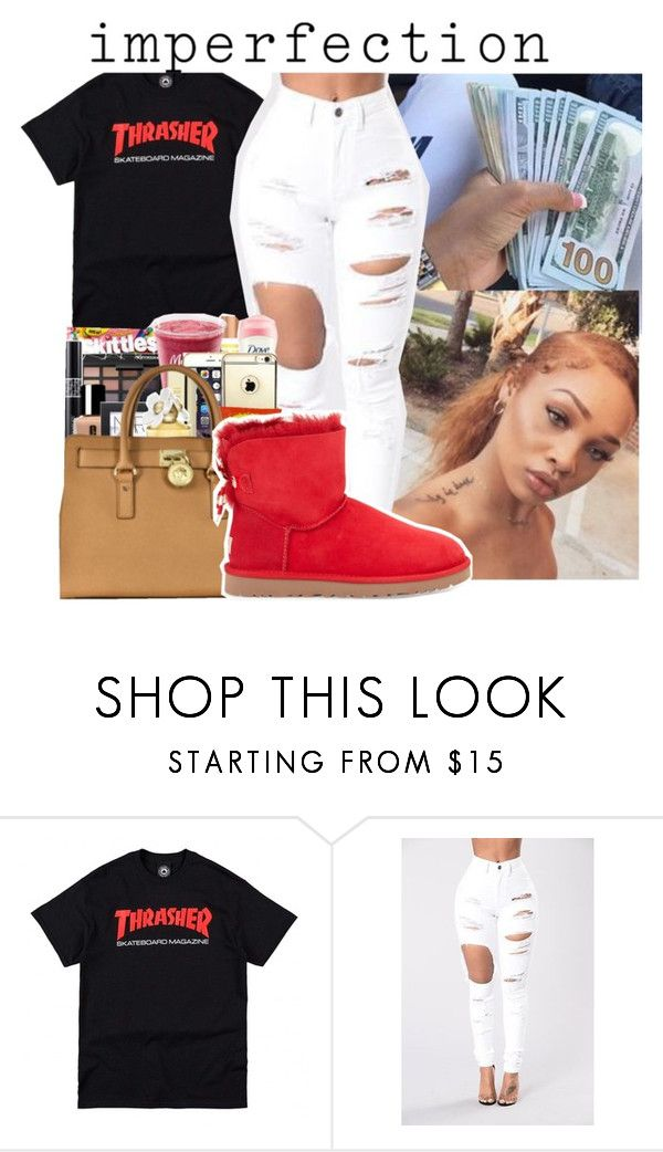 """""""I'm perfect"""" by badleaa ❤ liked on Polyvore featuring UGG Australia"""