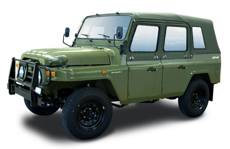 beijing bj212 (with canvas cover and side windows on) / 北京