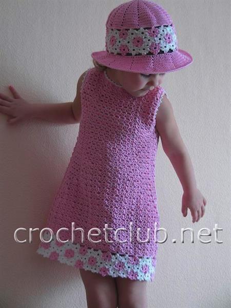 Шляпки для девочек под платье
