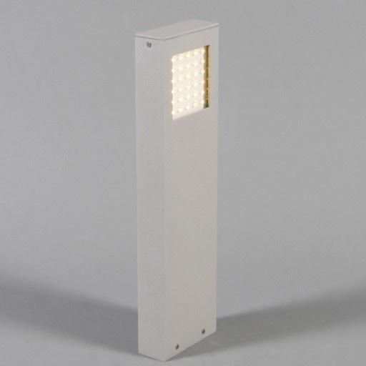 Buitenpaal Hinterglemm grijs LED - LED buitenlampen - LED verlichting - Lampenlicht.be