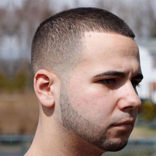 haircut.        Medium Skin Fade