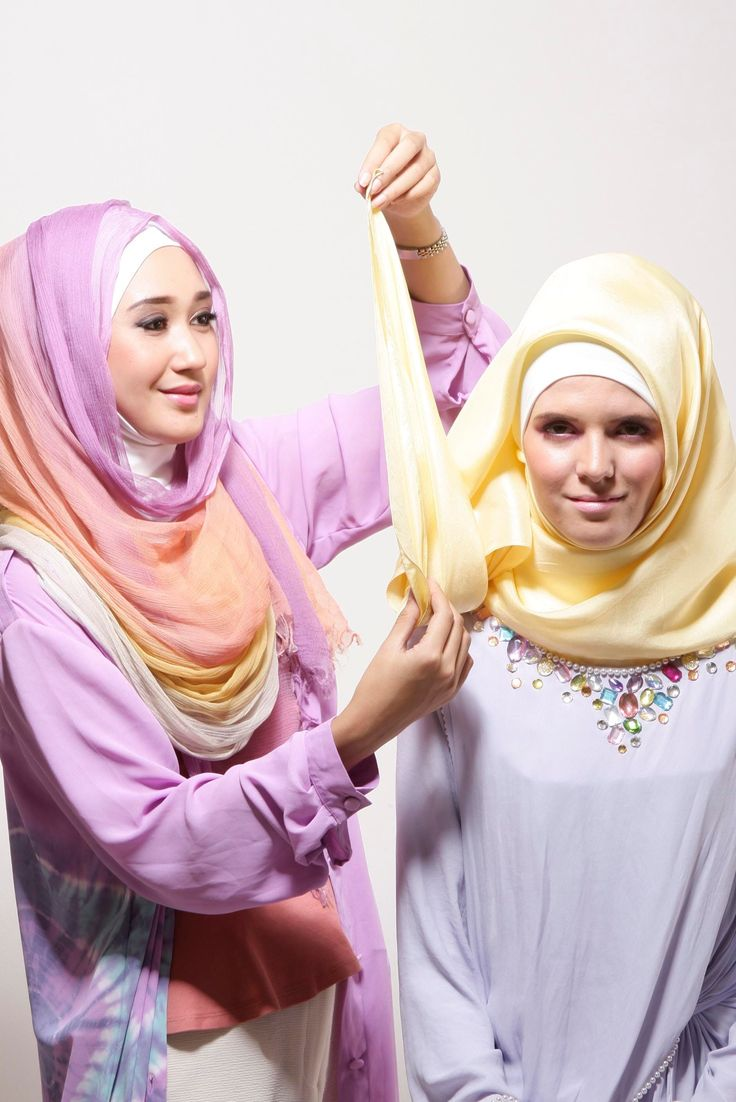 1000 Images About Hijab Tutorials On Pinterest