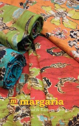 koleksi warna-warni batik tulis Wonogiri