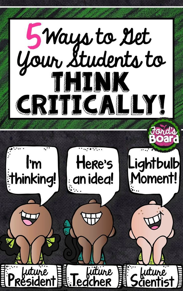 classroom activities to develop critical thinking It is important to develop critical thinking in students this skill set will help them deal with everyday situations with greater ease and responsibility.