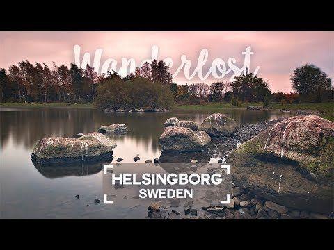 Sunrise at Filborna forest park in Helsingborg