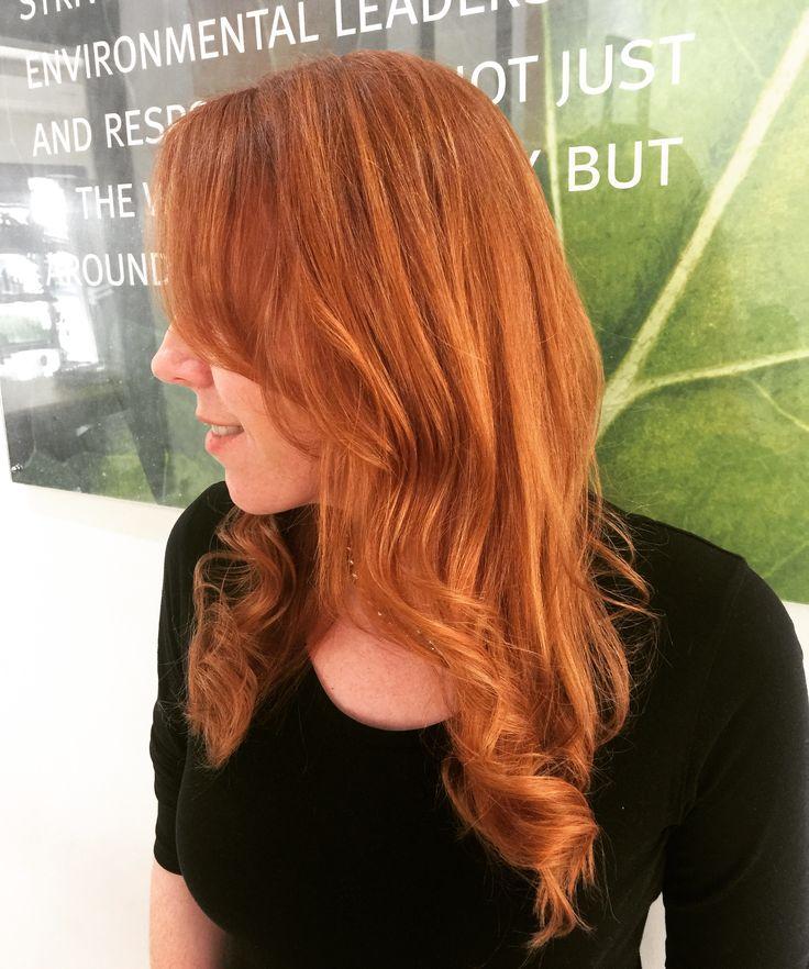 Aveda copper - hair by Jaki