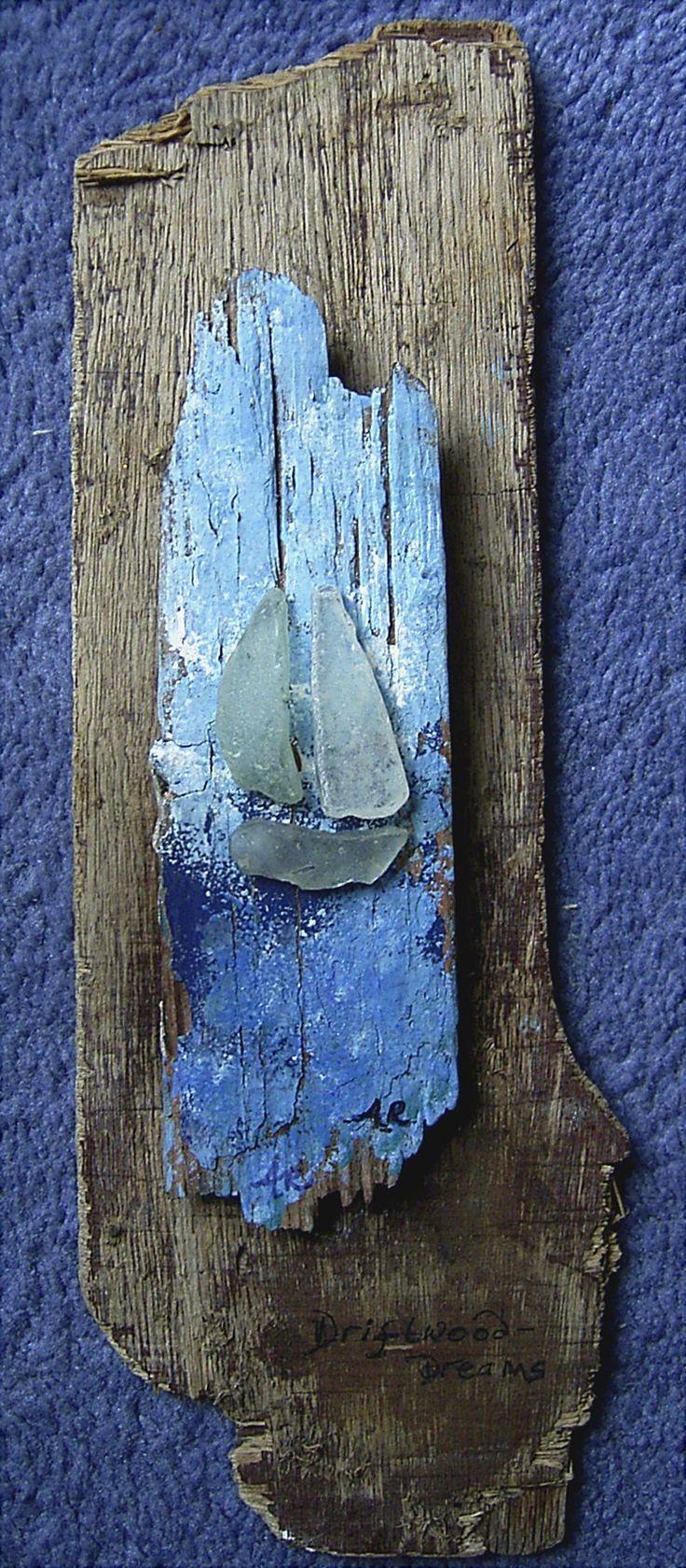 A driftwood sculpture: Artist Anita Russell