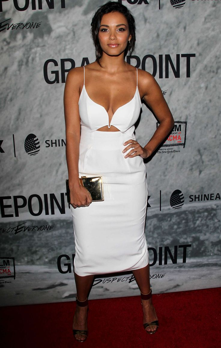 "Jessica Lucas at ""Gracepoint"" Screening in LA, October 2014."