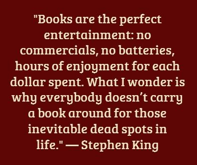 Stephen King #MyVeganJournal