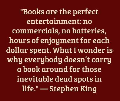 Stephen King #MyVeganJournal