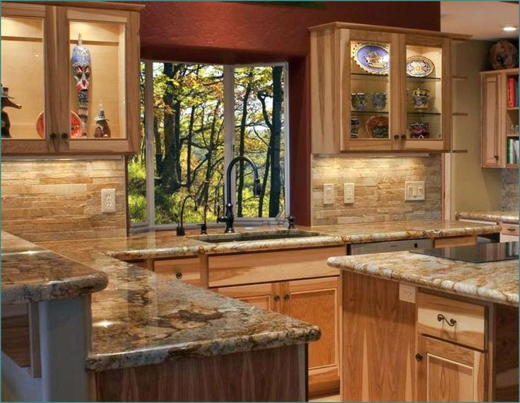 Best 13 Best Hickory Cabinet Countertops Images On Pinterest 640 x 480