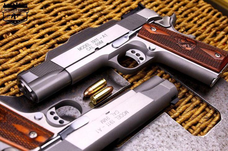 102 отметок «Нравится», 1 комментариев — 🇺🇸 Sacramento Armory 🇺🇸 (@sacramentoarmory) в Instagram: «Springfield 9mm Target 1911🇺🇸 . . . #FriYay #FridayNight #GunPorn #1911porn #Springfield…»