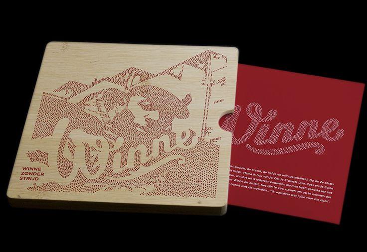 Het ontwerp voor Winne's album bestaat uit een speciaal ontwikkelde bamboe verpakking, voorzien van gezeefdrukt artwork. Album & artwork zijn gebaseerd op het boek The Art of War van Sun Tzu. Originele fotografie: Ilja Meefout.
