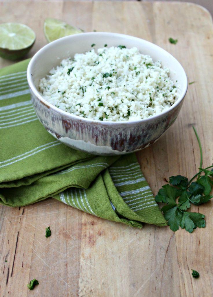 Cilantro Lime Cauli rice