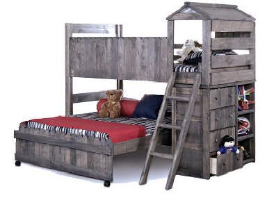 what a great fort bed... http://thebeanbagstore.com/Camp%20Fort%20Olson%20Loft%20Bed-Gray.jpg