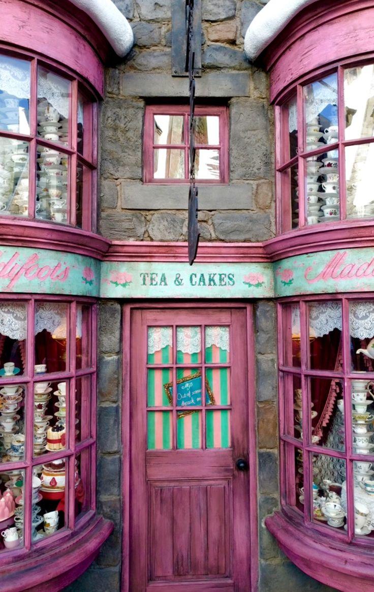 Madam Puddifoot's Tea Shop in Hogsmeade - Universal Studios Hollywood, Los Angeles, California