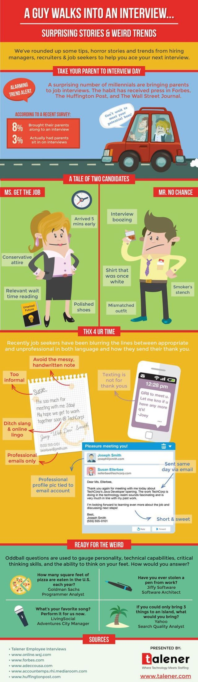 Career infographic : Heres What NOT To Do At Your Next Job Interview