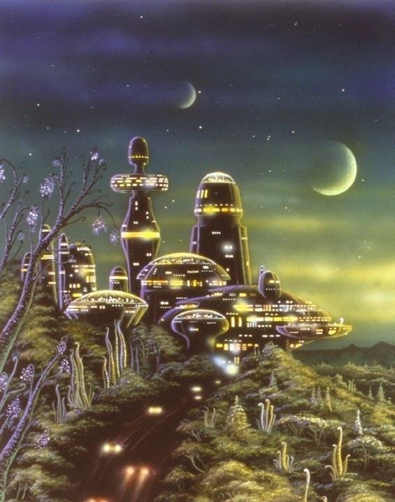 Ambient take on Retro Futurism