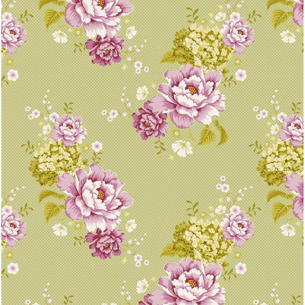Tilda Flowerpatch Green (480267): Decoupage Image