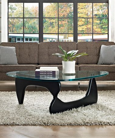Take a look at this Black Triangle Coffee Table by Modway on #zulily today!