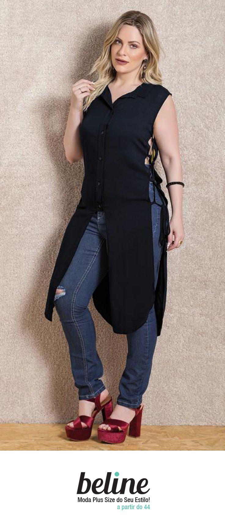 Uma peça que nunca sai de moda é a camisa de manga curta. Ela é versátil e pode ser usada no inverno e no verão. Combina com várias peças formando looks diferentes e pode ser usada em diversas ocasiões. Confira as camisas de manga curta em: https://www.beline.com.br/mulheres/blusas-camisetas/camisetas  #beline #plussize #camisaplussize #modaplussize #estiloplussize #eusouplus #meuestiloplussize