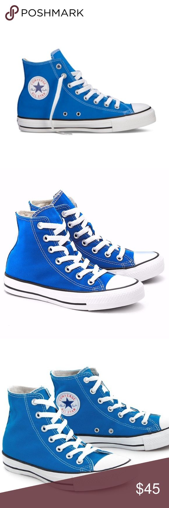 1 HOUR SALE! CONVERSE ELECTRIC BLUE SHOES SIZE 7 Brand new Converse Shoes Sneakers
