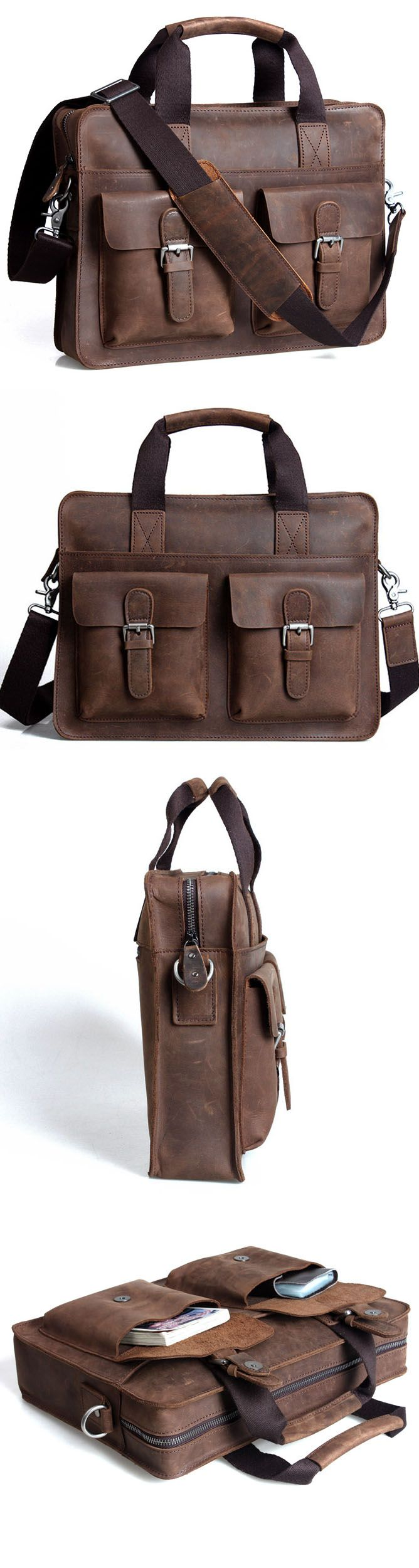 best gift for him: messenger & briefcase