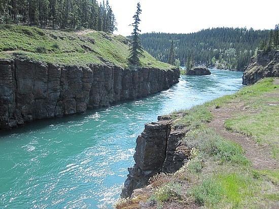 Yukon River near Whitehorse, Canada