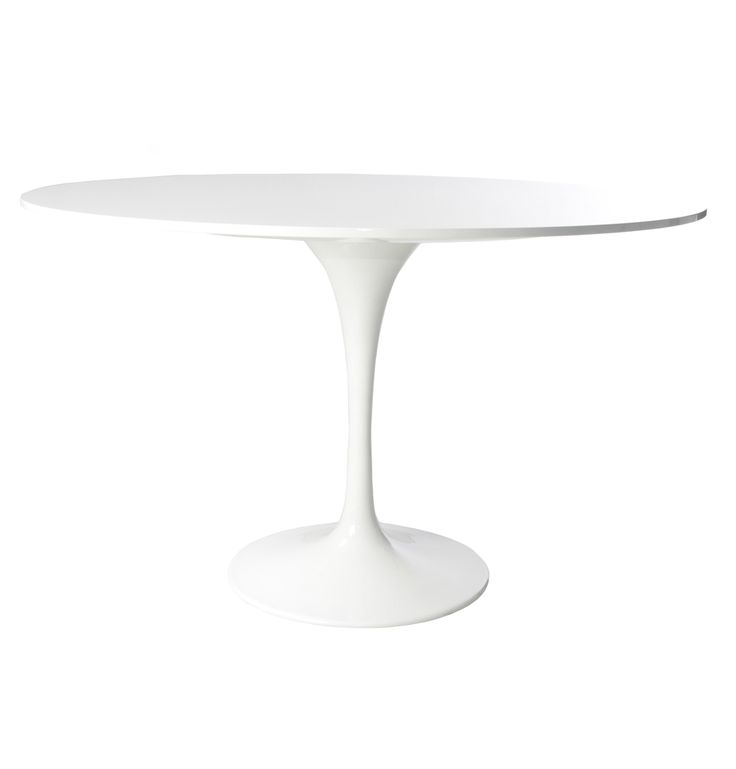 Replica Eero Saarinen Tulip Dining Table 120cm by Eero Saarinen - Matt Blatt