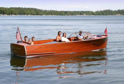 What's A Chris Craft U22?   Classic Boats / Woody Boater